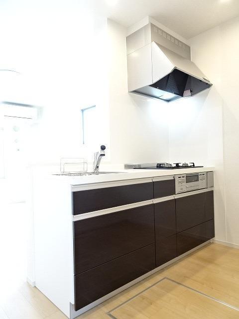 シャルマン 01010号室のキッチン