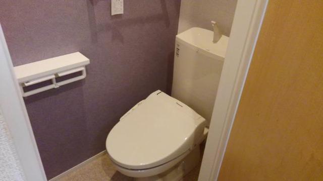 ノイ グランツ 01030号室のトイレ