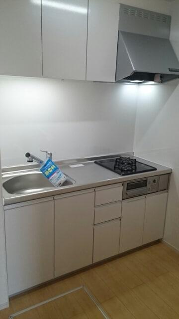 ボヌールF 01030号室のキッチン