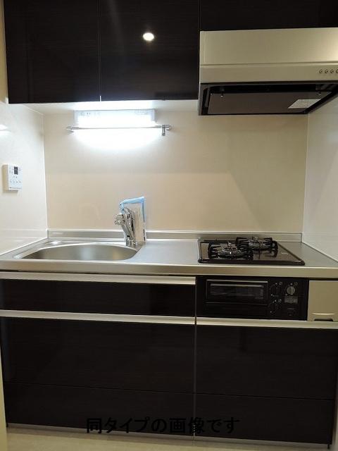 グランツ聖蹟 02040号室のキッチン