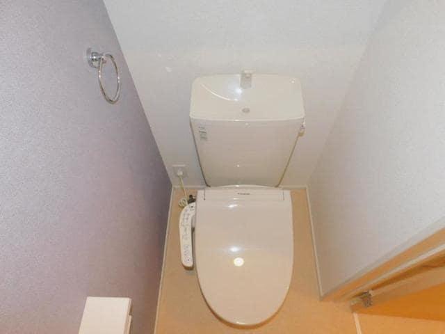 ラディーナB 01020号室のトイレ