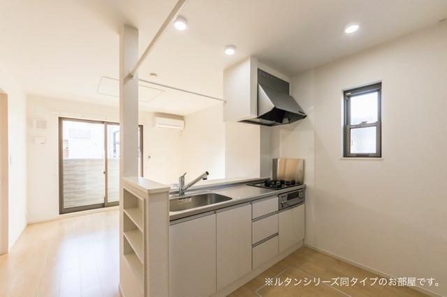 NFヴィレッジ Ⅰ 01010号室のキッチン