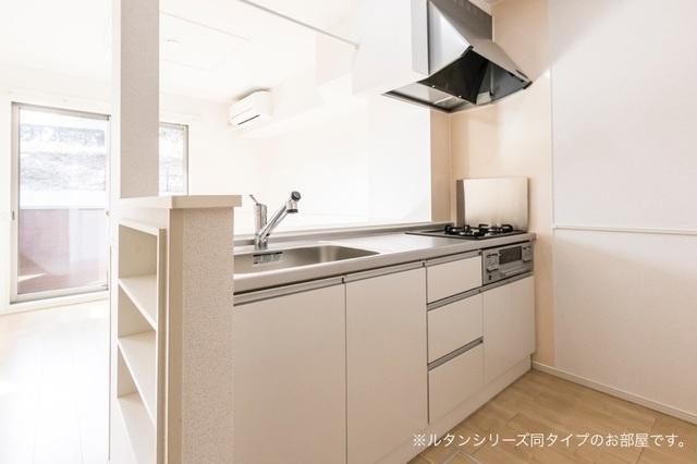 インフィニティ 01020号室のキッチン