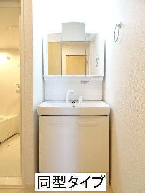 カーサ ブローテF 02020号室の洗面所