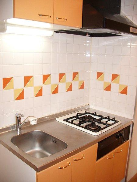 ルーブル学芸大学参番館 301号室のキッチン