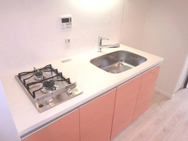フェニシア学芸大学 604号室のキッチン