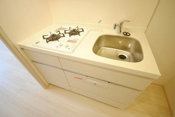 プレミアムキューブ・ジー・駒沢大学 1301号室のキッチン