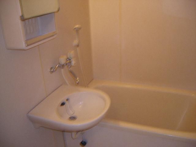 ファミーユ植木 203号室の洗面所