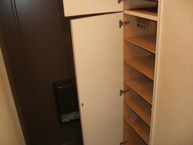 ファミーユ植木 203号室の収納