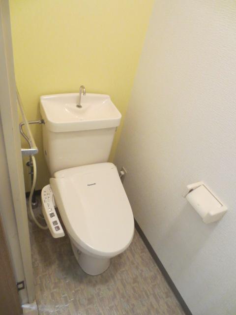 メルベーユ三芳野 203号室のトイレ