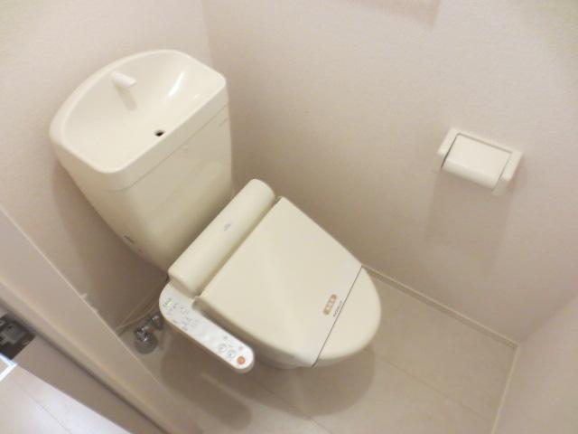 アリエル 202号室のトイレ