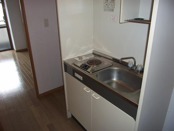 リブルHANASEN 305号室のキッチン