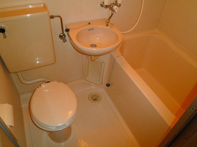 グリーンヒルハイツ・7 502号室の風呂