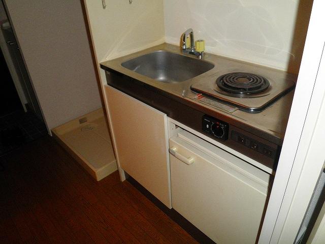 グリーンヒルハイツ・7 502号室のキッチン