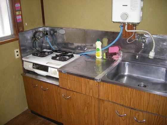星野荘 102号室のキッチン