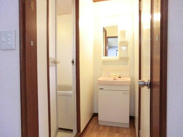 笹屋マンション 205号室の洗面所