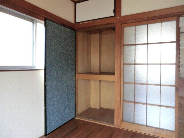 笹屋マンション 205号室の収納