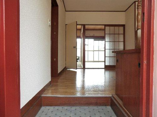 笹屋マンション 205号室の玄関