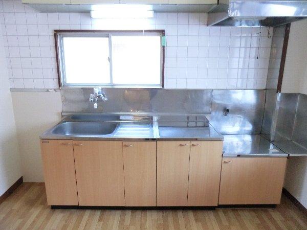 笹屋マンション 205号室のキッチン