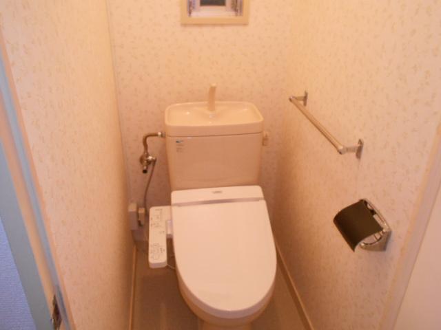 岩端ビル 4-B号室のトイレ