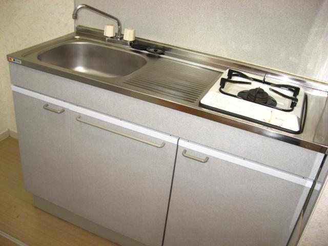 クレスト新開 201号室のキッチン