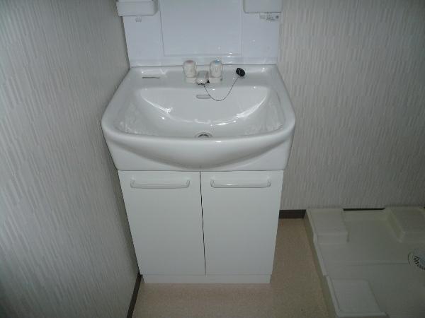 ヴィレッジ西堀 301号室の洗面所