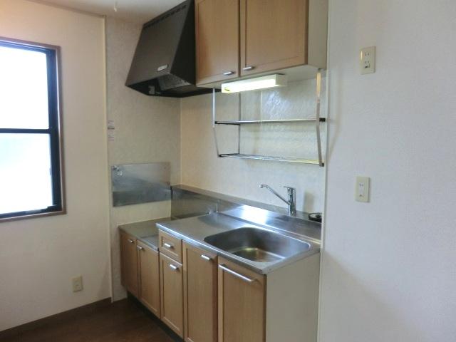 ソレイユ下落合 205号室のキッチン
