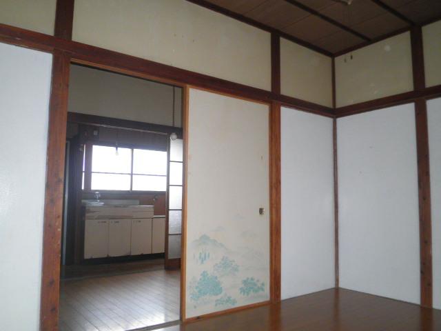 石井荘 103号室のベッドルーム