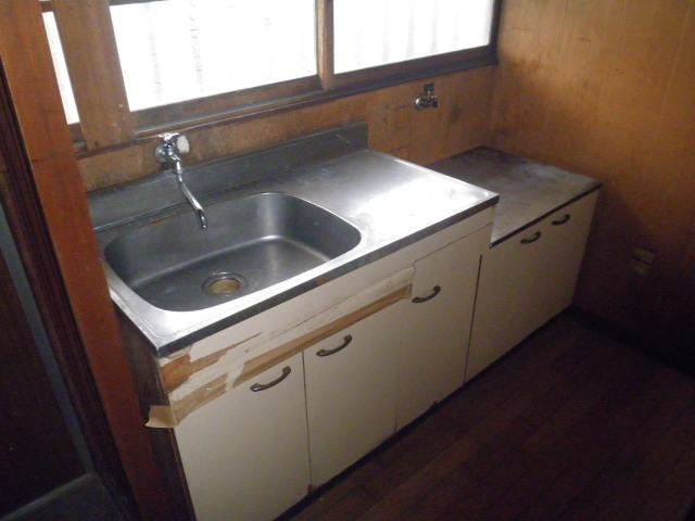 石井荘 103号室のキッチン