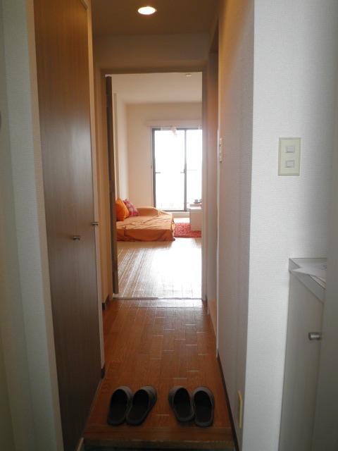 浦和シティマンション 504号室の玄関