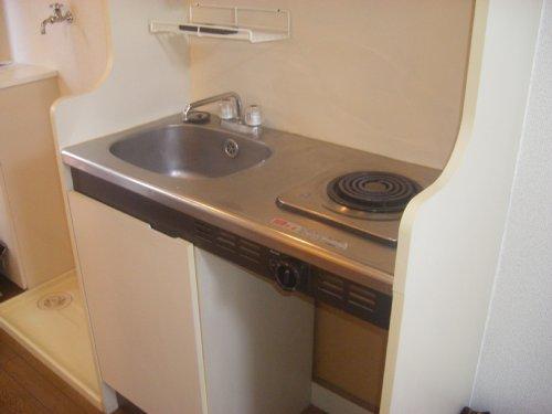 メゾンオランジュ 202号室のキッチン