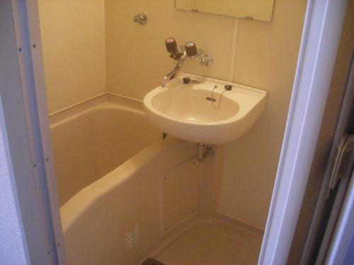 メゾンオランジュ 202号室の風呂