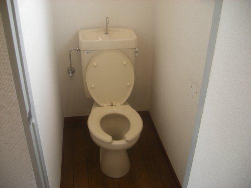 メゾンオランジュ 202号室のトイレ