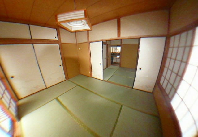 田中アパート 201号室のリビング