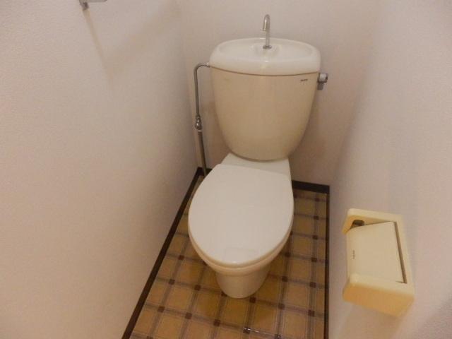 フレグランスSHOWA 202号室のトイレ