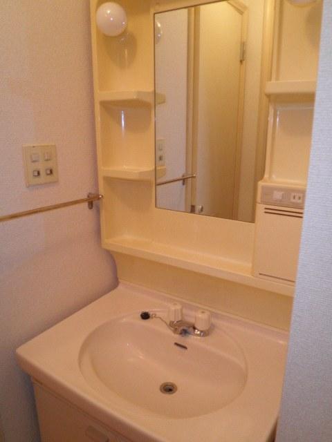 コーポウエムラ 202号室の洗面所