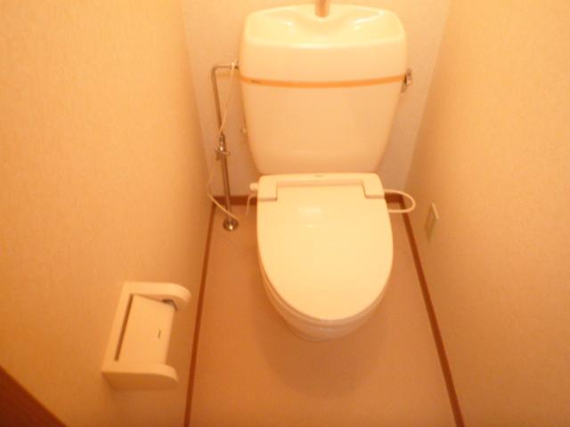 ハイツ若葉 201号室のトイレ