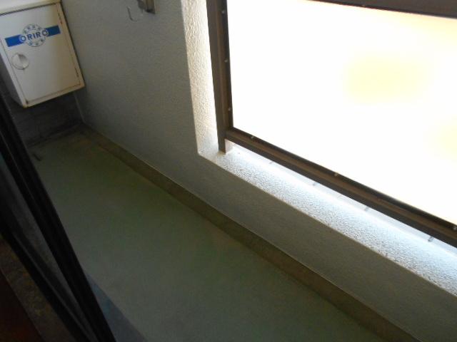 ウェーブ元町 303号室のバルコニー