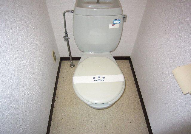 スワローフィールズ 101号室のトイレ
