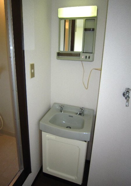 スワローフィールズ 101号室の洗面所