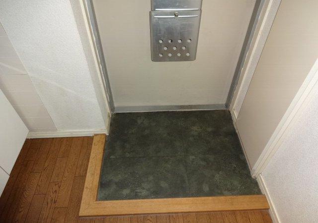 第11メゾンエステルナ 202号室の玄関