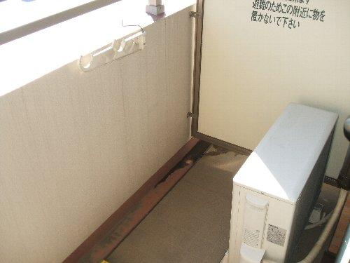 メゾンドエフ 604号室のバルコニー