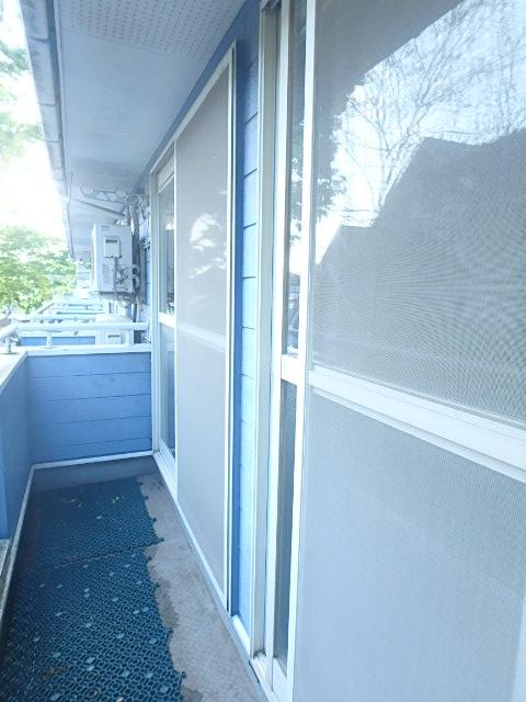 メゾンハピネス 202号室のバルコニー