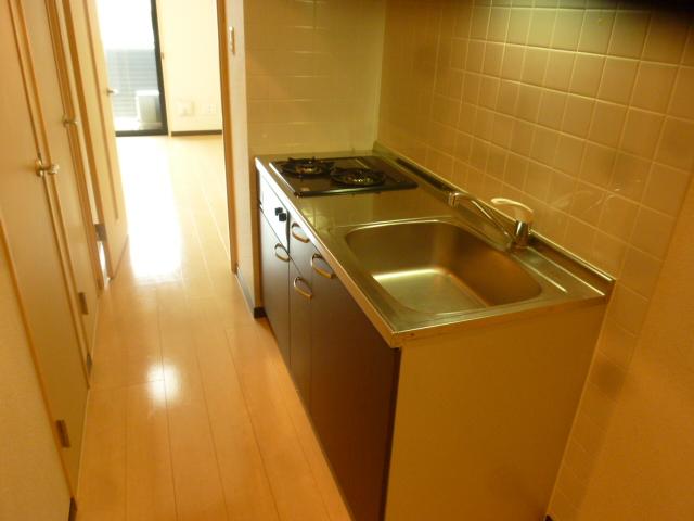 カーサアルマーレ 203号室のキッチン