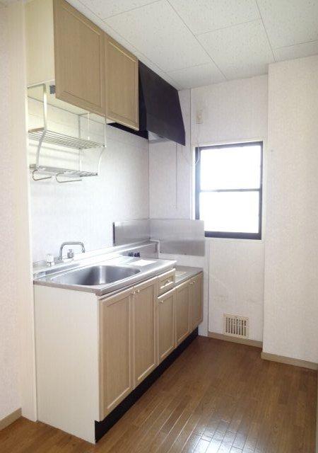 サンダイヤコーポ 202号室のキッチン