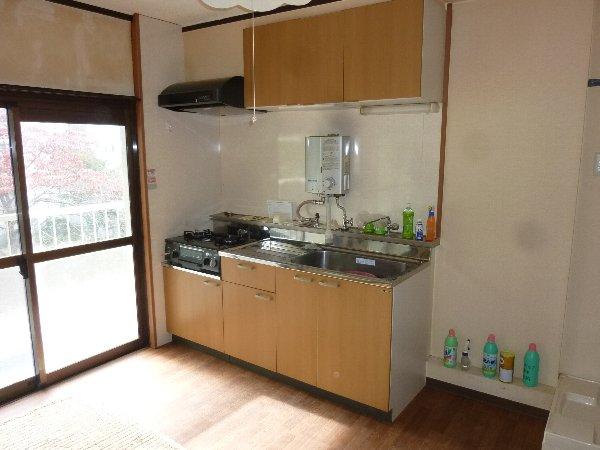 金杉台団地28号棟 201号室のキッチン