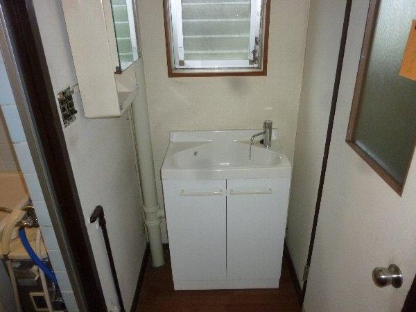 金杉台団地28号棟 201号室の洗面所
