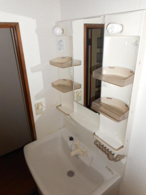 アパートメント21 305号室の洗面所