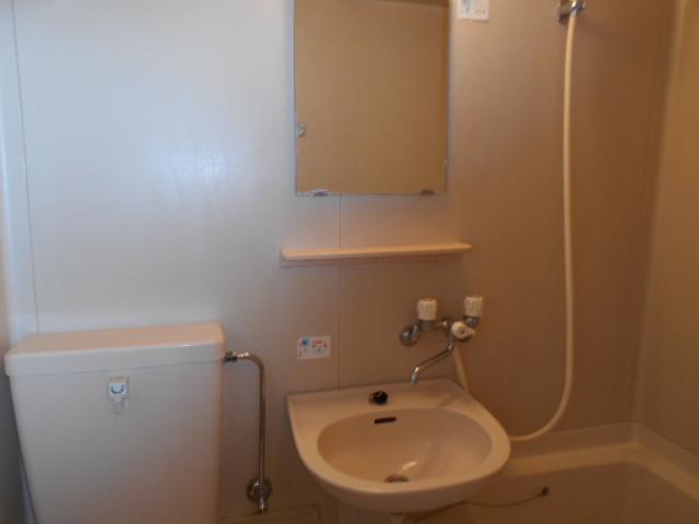 アッドマウント 101号室の洗面所