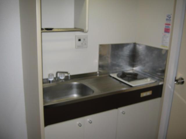 ハイツKOBA 202号室のキッチン